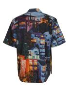 MSGM Graphic House Print Shirt - Multicolor