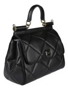 Dolce & Gabbana Quilted Sicily Tote - Nero