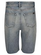 Saint Laurent Denim Shorts - Light Blue