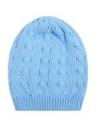 Little Bear Light Blue Hat For Babyboy - Light Blue
