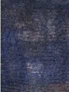 f cashmere Woven Scarf - Blue/Brown