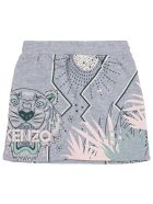 Kenzo Kids Skirt - Grey