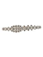 N.21 Crystal-embellished Brooch - Silver
