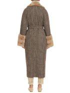 Kiton Coat Cashmere - DARK BROWN