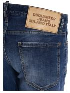 Dsquared2 'slim Cropped' Jeans - Blue