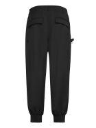 Y-3 Wool Blend Trousers - black