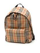 Burberry Vintage Check Jett Backpack - ARCHIVE BEIGE (Beige)