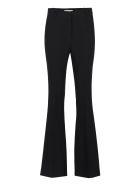Michael Kors Flared Acetate Trousers - Black