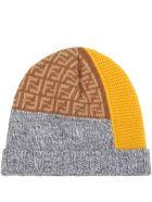 Fendi Multicolor Hat For Baby Boy - Multicolor