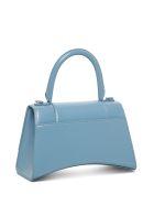Balenciaga Hourglass Handbag In Light Blue Leather - Light blue