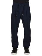 Giorgio Armani Blue Virgin Wool Trousers - Blue
