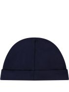 Ralph Lauren Blue Hat For Babyboy With Pony Logo - Blue