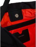Alexander McQueen The Bundle Crossbody Bag In Recycled Nylon - Black