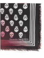 Alexander McQueen Scarf - Nero e Avorio