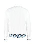 Dolce & Gabbana Printed Crew-neck Sweatshirt - White