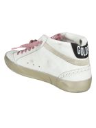 Golden Goose Mid-star Classic Sneakers - White/Ice