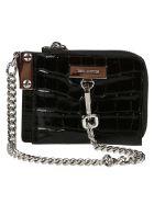 Dsquared2 Chain Strap Shoulder Bag - Black