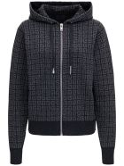 Givenchy 4g Cashmere Hoodie - Grey