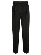 Acne Studios Regular Plain Trousers - Black