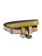 Alexander McQueen Double-wrap Bracelet - Limepowder