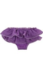 Oseree Purple Swimsuit For Babygirl - Violet