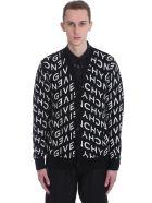 Givenchy Cardigan In Black Wool - black