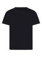 Armani Collezioni Blue T-shirt For Boy With Eagle - Blue