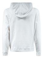 Saint Laurent Logo Hoodie - White