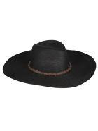 Brunello Cucinelli Embellished Round Hat - Nero