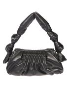 Miu Miu Wrapped Handle Tote - Black