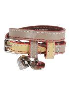 Alexander McQueen Double-wrap Bracelet - Taupeyellow