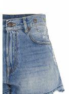 R13 'boyfriend' Shorts - Blue