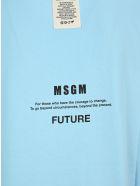 "MSGM ""fantastic Green"" T-shirt - BLUE"
