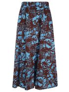 Tela Yacht Skirt - Blue/Brown
