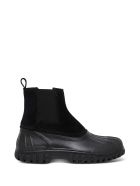 Diemme Balbi Black Suede And Rubber Boots - Black