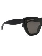 Alaia AA0044S Sunglasses - Black Black Grey