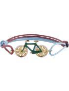 Aliita Bici Charm Cord Bracelet - Multicolor