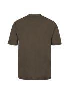 PTRCRS by Christian Petrini Crew-neck Cotton T-shirt - green