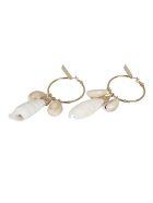 Alberta Ferretti Bijoux Earrings - Gold/Lucid