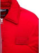 Jacquemus La Doudoune Flocon Red Nyon Down Jacket - Red