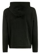 Saint Laurent Logo Hoodie - Black