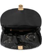 Miu Miu Leather Shoulder Bag - black