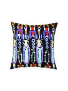 Le Botteghe su Gologone Printed Cushions 50x50 Cm - Black