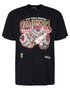 Dom Rebel Printed T-shirt - Black