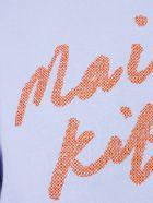 Maison Kitsuné Handwriting Adjusted Sweatshirt - Blue