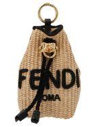 Fendi 'charm Micro Bag' Keyring - Multicolor