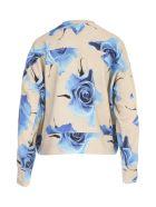 Paul Smith Oversized Ribbed Sweatshirt - Blu