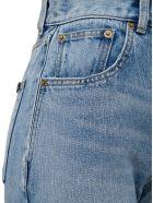 Saint Laurent Five-pockets High-waisted Denim Jeans - Hawaii Blue