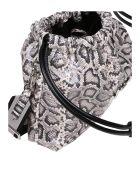N.21 N ° 21 Eva Coulisse Bag With Animalier Print - Rock