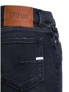 Mauro Grifoni Black Skinny Denim Jeans - Black